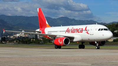N521TA - Airbus A319-132 - Avianca