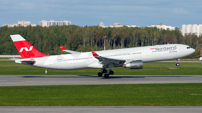 A picture of VPBUP - Airbus A330302 - Nordwind Airlines - © Ivan Goreza