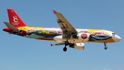 HS-BBA - Airbus A320-216 - Thai AirAsia