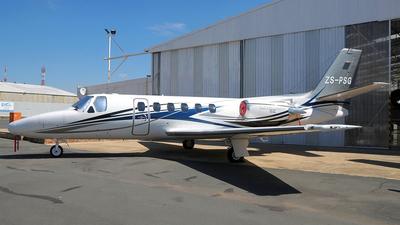 ZS-PSG - Cessna 550 Citation II - Private