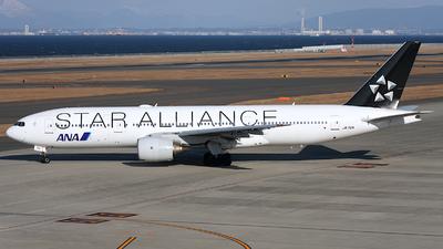 JA712A - Boeing 777-281 - All Nippon Airways (ANA)