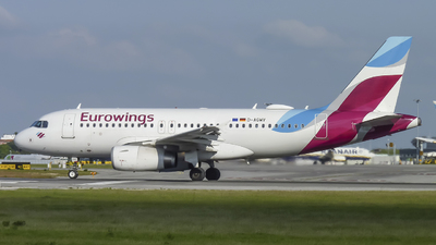 A picture of DAGWV - Airbus A319132 - Eurowings - © DPCoelho