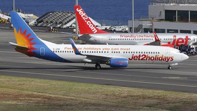 G-JZHE - Boeing 737-8K2 - Jet2.com
