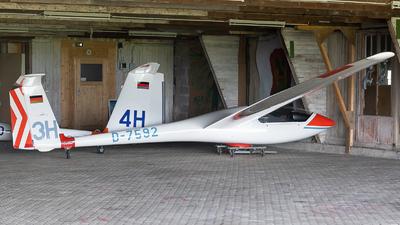 D-7592 - Grob Astir CS - LSV Hegenscheid