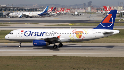 TC-OBS - Airbus A320-232 - Onur Air