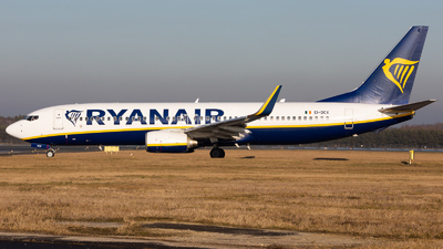 A picture of EIDCX - Boeing 7378AS - Ryanair - © Fryderyk Kastelnik/ Fred Aviation