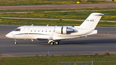 P4-ACE - Bombardier CL-600-2B16 Challenger 604 - Private