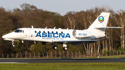 A picture of 6VCEV - Cessna 680 Citation Sovereign+ - [6800587] - © Chris de Breun