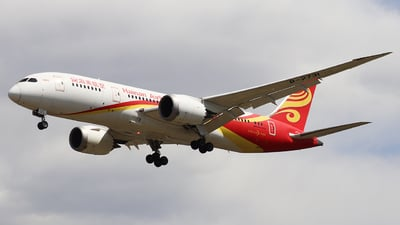 A picture of B2731 - Boeing 7878 Dreamliner - Hainan Airlines - © QingChen1204