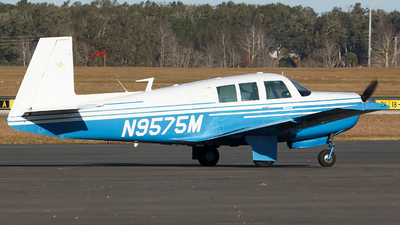 N9575M - Mooney M20F - Private
