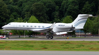 N616AF - Gulfstream G550 - Private