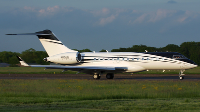 N115JS - Bombardier BD-700-1A10 Global 6000 - Private