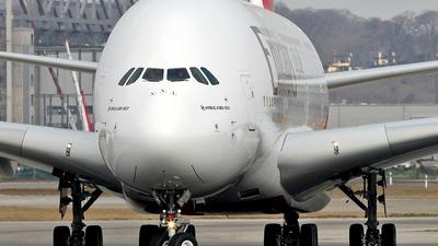 F-WWSS - Airbus A380-861 - Emirates