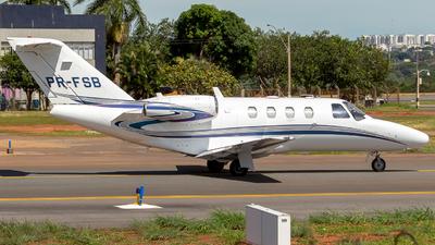 A picture of PRFSB - Cessna 525 CitationJet CJ1+ - [5250606] - © @brasiliaspotter