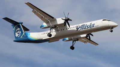 A picture of N412QX - De Havilland Canada Dash 8400 - Alaska Airlines - © Ethan Peters