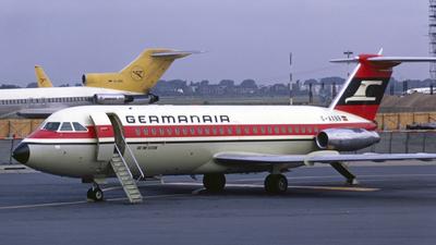 G-AXBB - British Aircraft Corporation BAC 1-11-409AY - Germanair