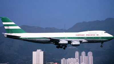 VR-HIA - Boeing 747-267B - Cathay Pacific Airways