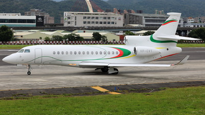 VP-CVT - Dassault Falcon 8X - Private