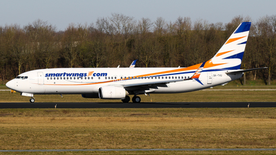 A picture of OKTVU - Boeing 73786N - Smartwings - © C. v. Grinsven