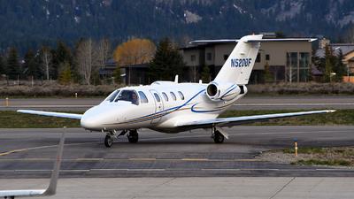 N520DF - Cessna 525A CitationJet CJ2 - Private