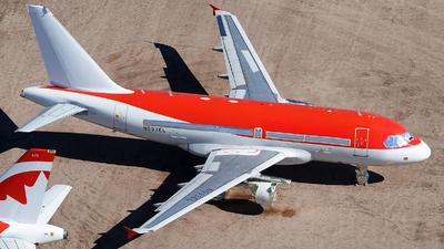 N593EL - Airbus A318-111 - Untitled