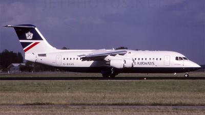 G-BXAS - British Aerospace Avro RJ100 - British Airways (CitiExpress)
