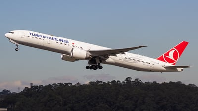 A picture of TCJJP - Boeing 7773F2(ER) - Turkish Airlines - © Dotto