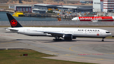A picture of CFNNQ - Boeing 777333(ER) - Air Canada - © Ching Ho