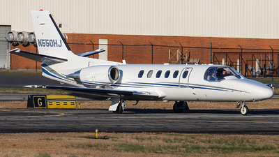 N550HJ - Cessna 550B Citation Bravo - Private