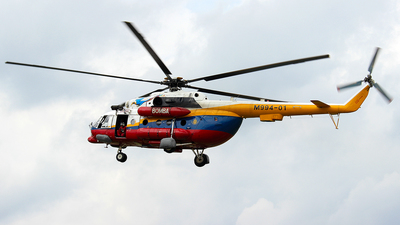 M994-01 - Mil Mi-17 Hip - Malaysia - Fire and Rescue Services