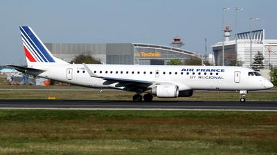 F-HBLH - Embraer 190-100LR - Air France (Régional Compagnie Aerienne)