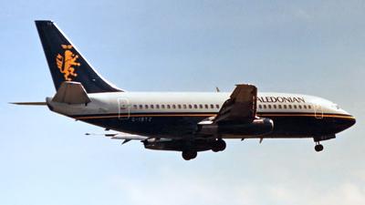 G-IBTZ - Boeing 737-2U4(Adv) - Caledonian Airways