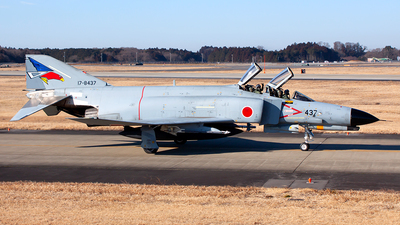 17-8437 - McDonnell Douglas F-4EJ Kai - Japan - Air Self Defence Force (JASDF)