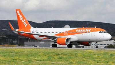 G-EZPR - Airbus A320-214 - easyJet