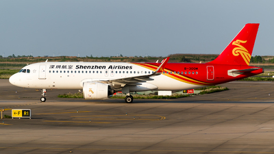 A picture of B300M - Airbus A320251N - Shenzhen Airlines - © Smiling PVG