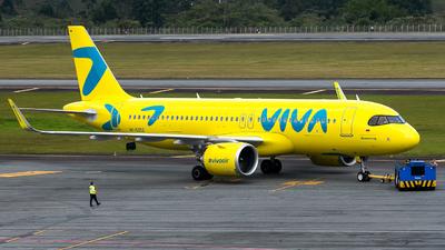 A picture of HK5352 - Airbus A320251N - Viva Air - © Sergio Guevara