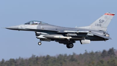 90-0818 - General Dynamics F-16CM Fighting Falcon - United States - US Air Force (USAF)