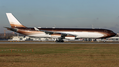 M-IABU - Airbus A340-313E - Klaret Aviation