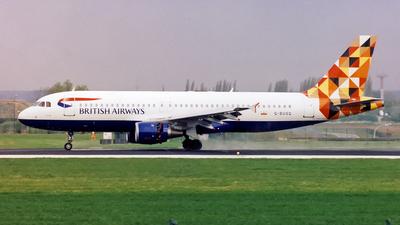 G-BUSG - Airbus A320-211 - British Airways