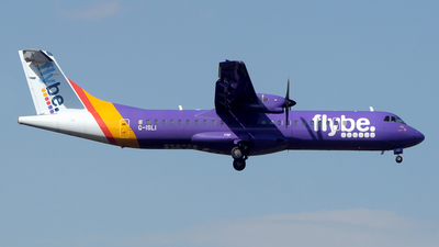 G-ISLI - ATR 72-212A(500) - Flybe (Blue Islands)