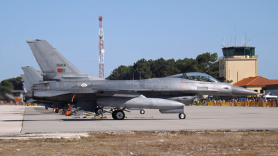 15104 - General Dynamics F-16AM Fighting Falcon - Portugal - Air Force