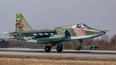 RF-95169 - Sukhoi Su-25SM Frogfoot - Russia - Air Force