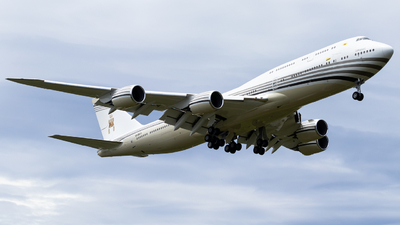 V8-BKH - Boeing 747-8LQ(BBJ) - Brunei - Sultan's Flight