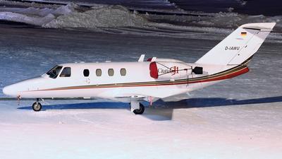 A picture of DIAWU - Cessna 525 CitationJet CJ1 - [5250435] - © Christian Weber