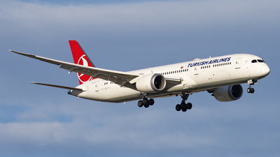 A picture of TCLLN - Boeing 7879 Dreamliner - Turkish Airlines - © TY-CHEN