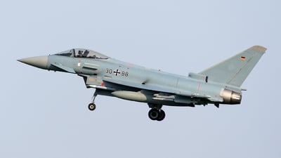 30-88 - Eurofighter Typhoon EF2000 - Germany - Air Force