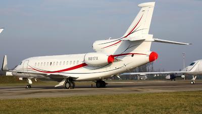 N817X - Dassault Falcon 7X - Private