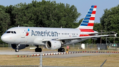 N760US - Airbus A319-112 - American Airlines