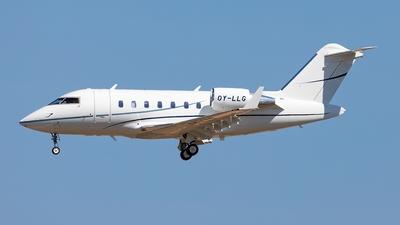 OY-LLG - Bombardier CL-600-2B16 Challenger 650 - Sun-Air of Scandinavia