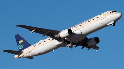 HZ-ASH - Airbus A321-211 - Saudi Arabian Airlines